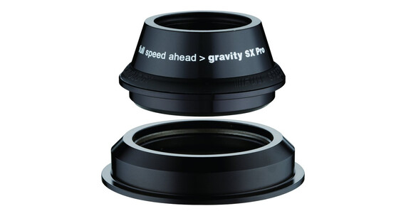 Gravity SX Pro Styrfittings semi-integreret tapered, ZS44/28.6 I ZS55/40 sort